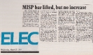 Funding bar lifted Electronics Weekly March 27th 1985