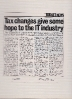 Tax Changes give some hope to IT industry - Computing March 28th 1995