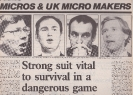 Micros and Micro makers - 1985 Pt1