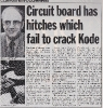 Press Cuttings 1985