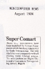 Super Comart, Minicomputer News Aug 1984