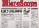 Kode's bargain buy 20th September 1984 Microscope (2)