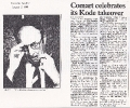 Comart celebrates takeover, Computer Weekly 2nd August 1984