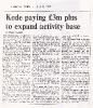 Comart sold to Kode for £3m - FT 5th July 1984