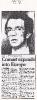 Press cuttings, May-June 1984